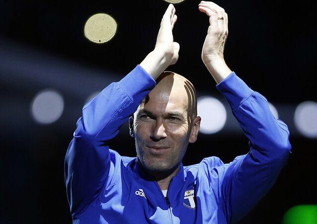 Zinedine Zidane, exfutbolista francés, técnico del Real Madrid