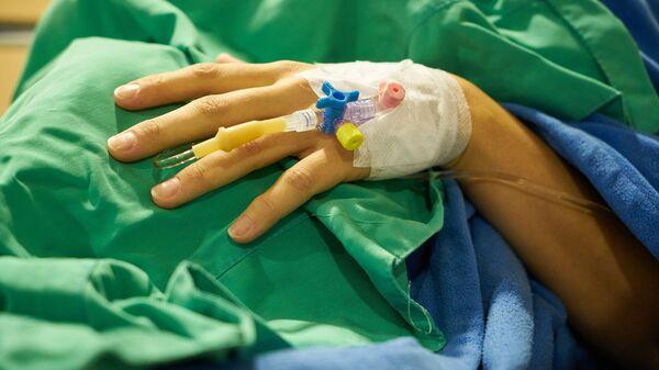 Un paciente del hospital, referencial - Sputnik Mundo