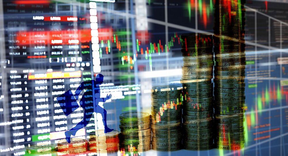 Unos gráficos financieros (imagen referencial)
