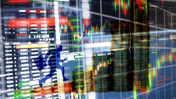 Unos gráficos financieros (imagen referencial) - Sputnik Mundo