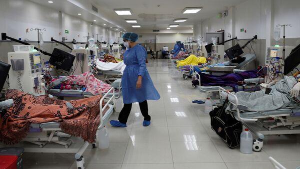 Un hospital en Ecuador - Sputnik Mundo
