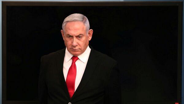 Benjamín Netanyahu, primer ministro israelí - Sputnik Mundo