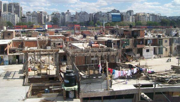 La Villa 31 de la ciudad de Buenos Aires - Sputnik Mundo