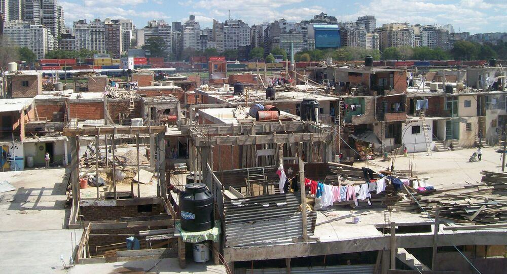 La Villa 31 de la ciudad de Buenos Aires