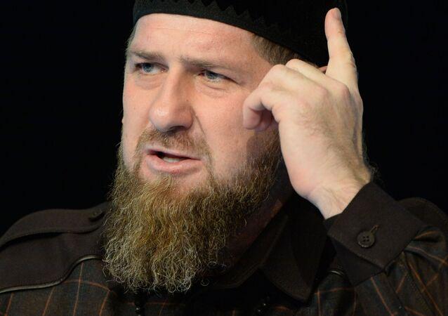 Ramzán Kadírov, líder de Chechenia