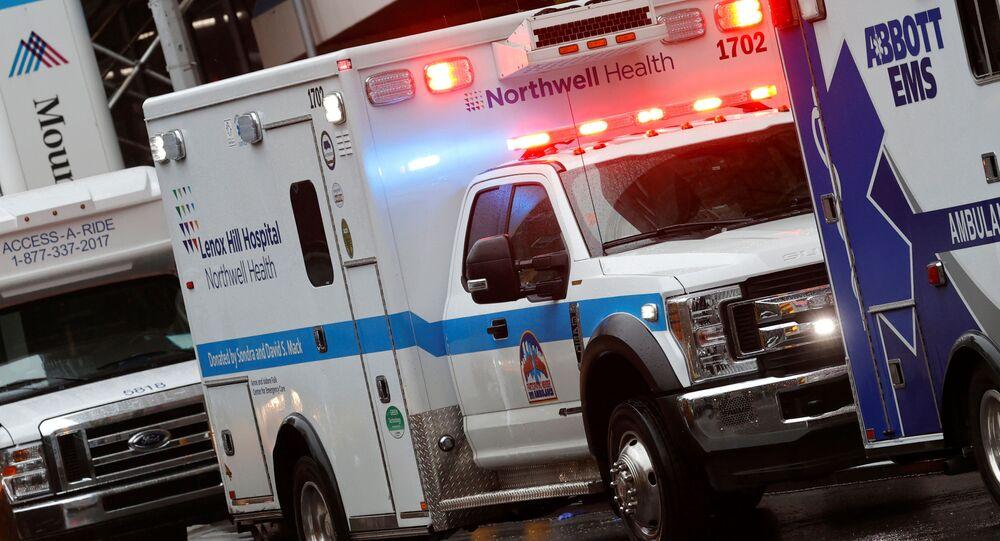 Una ambulancia en Nueva York, EEUU