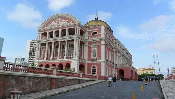 Teatro Amazonas, en Manaos - Sputnik Mundo