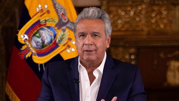 Lenín Moreno, presidente de Ecuador - Sputnik Mundo