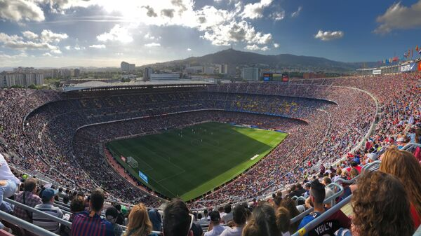 Camp Nou, estadio del FC Barcelona - Sputnik Mundo