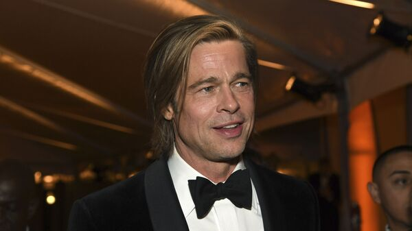 Brad Pitt, actor estadounidense - Sputnik Mundo