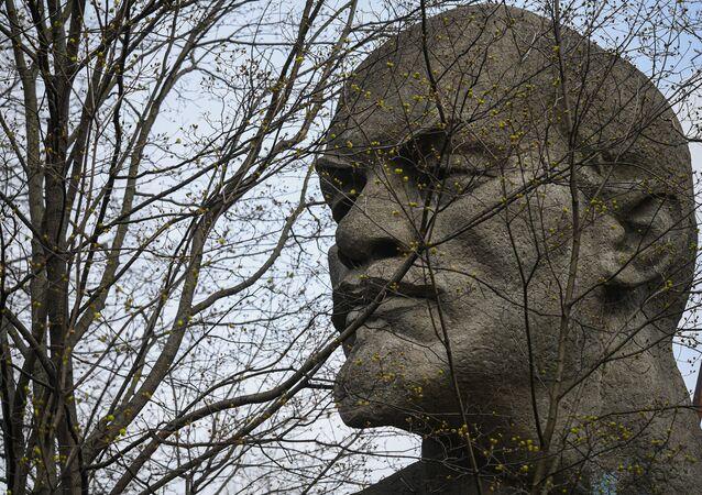 Monumento a Lenin en Moscú, Rusia