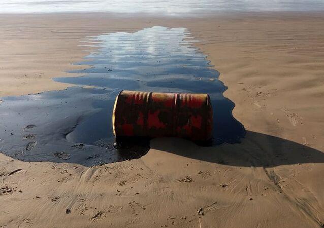 Un barril de petróleo (imagen referencial)