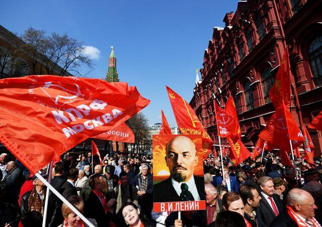 El retraro de Vladímir Lenin