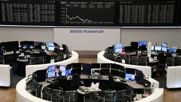La bolsa de valores en Frankfurt - Sputnik Mundo