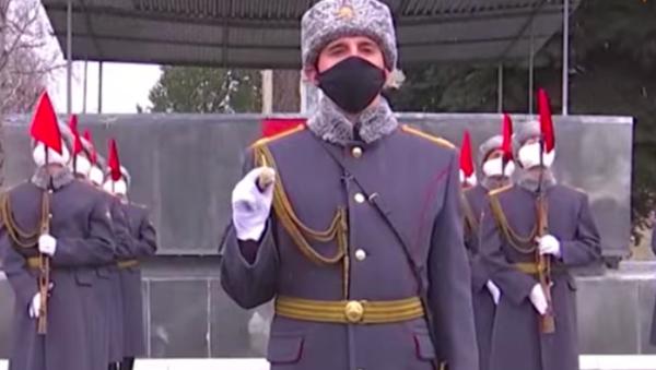 Desfile ceremonial de la Guardia de Honor en Rusia - Sputnik Mundo