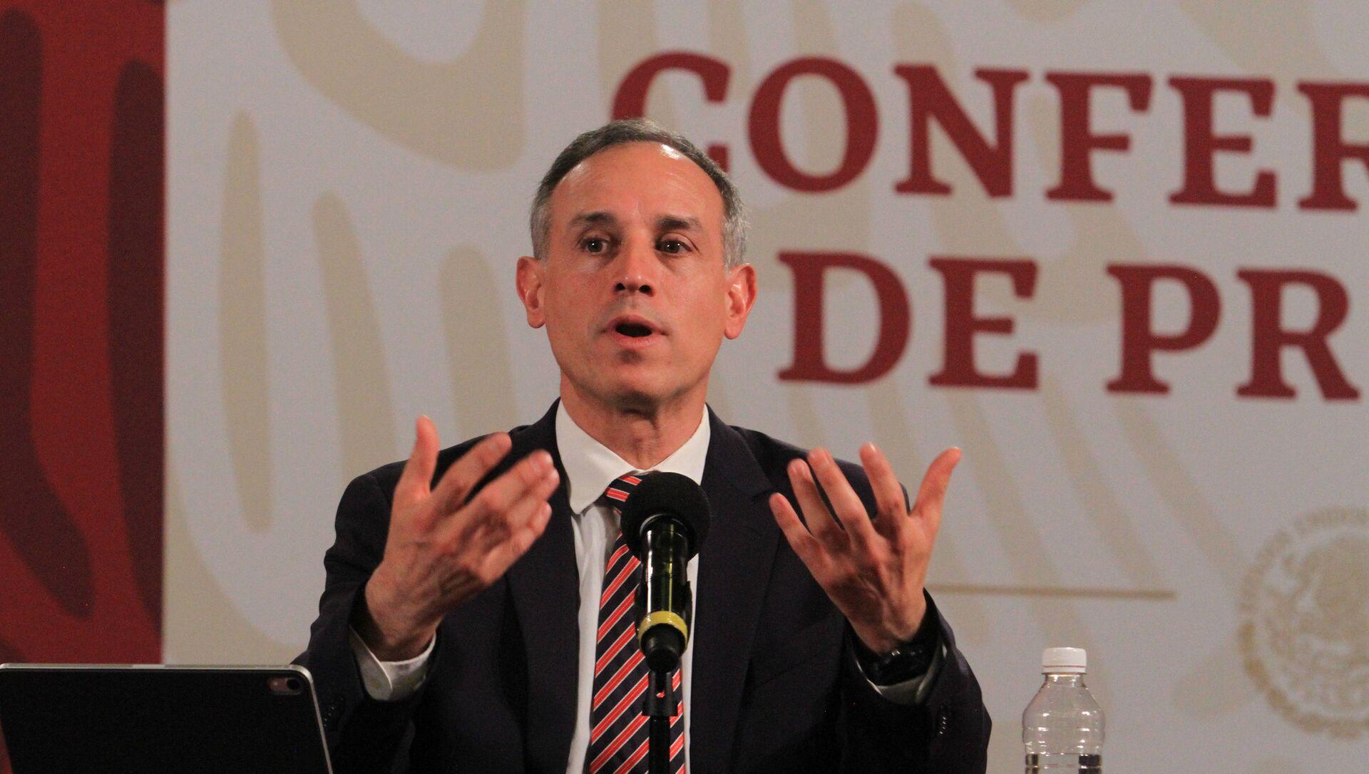 Hugo López-Gatell Ramírez, subsecretario de Prevención y Promoción de la Salud del Gobierno de México - Sputnik Mundo, 1920, 28.01.2021