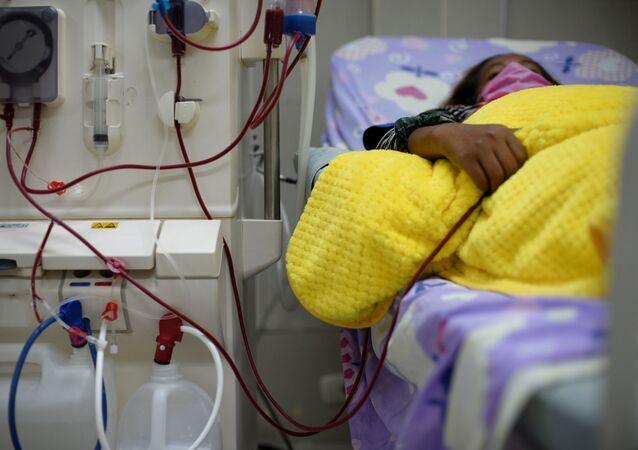 Una paciente en un hospital (imagen referencial)