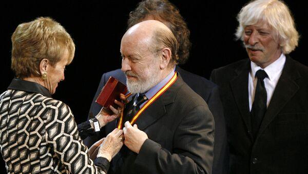 El actor y humorista argentino Marcos Mundstock, centro (archivo) - Sputnik Mundo