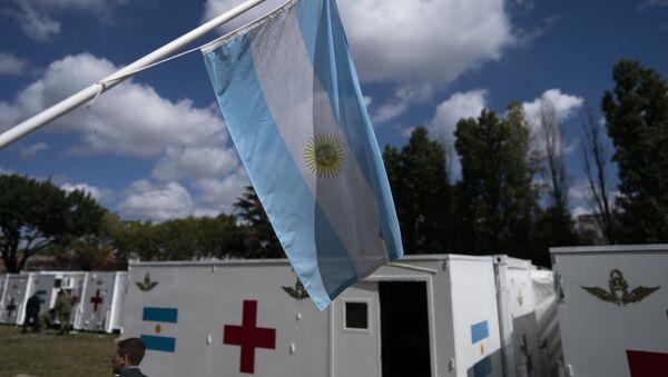 La bandera argentina - Sputnik Mundo