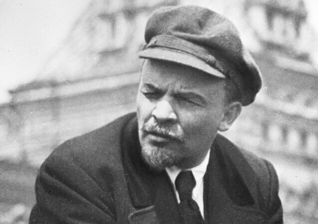 Vladímir Lenin, líder de la revolución bolchevique