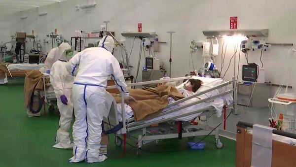 Los médicos rusos en Bérgamo - Sputnik Mundo