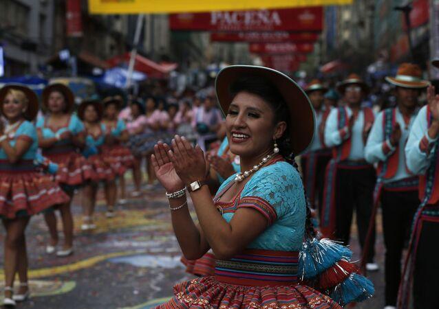 la Entrada del Gran Poder, el mayor festival folclórico callejero de La Paz