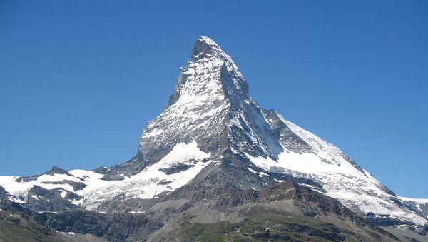 El monte Cervino de los Alpes - Sputnik Mundo