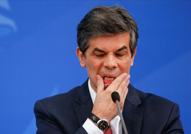 Nelson Teich, ministro de Salud de Brasil