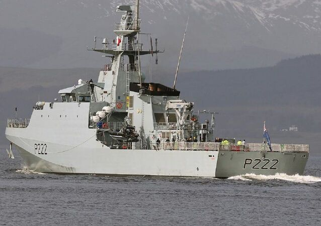 HMS Forth de la Marina Real Británica