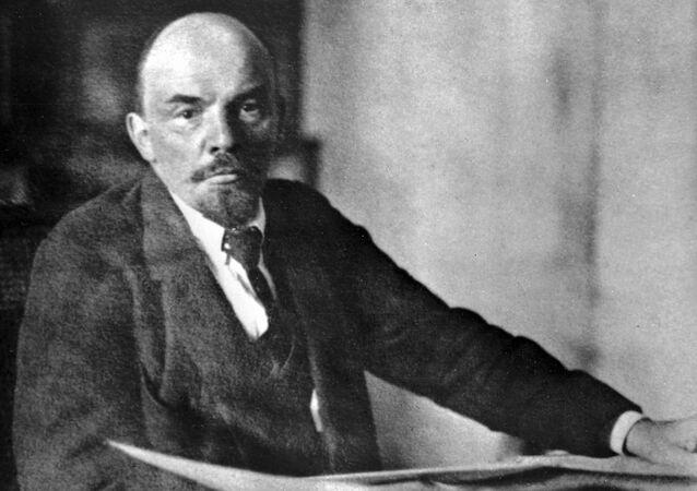 Vladímir Lenin, líder revolucionário