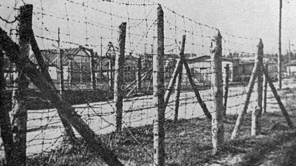 Un campo de concentración nazi - Sputnik Mundo