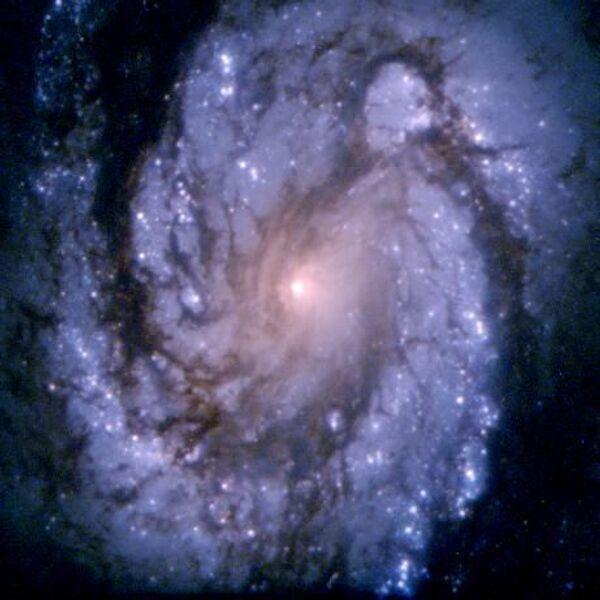 Núcleo de la Galaxia M100 (1994) - Sputnik Mundo