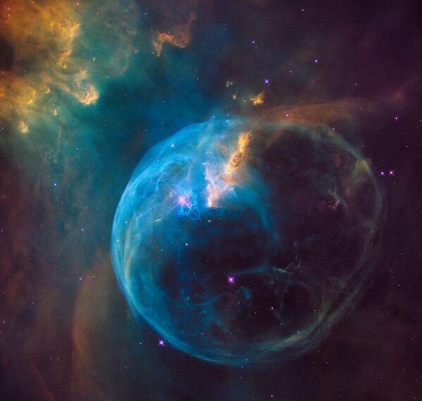 Nebulosa de la Burbuja (2016) - Sputnik Mundo