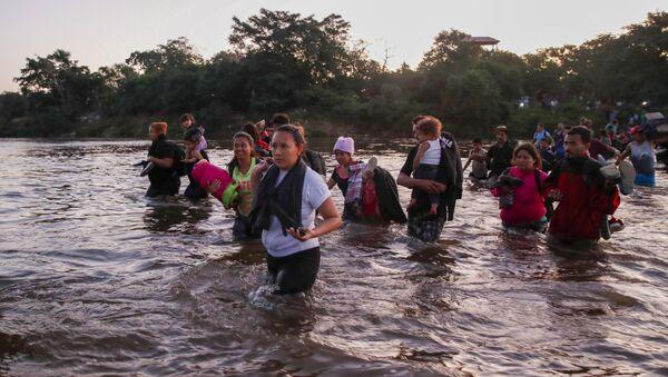 Migrantes centroamericanos (archivo) - Sputnik Mundo