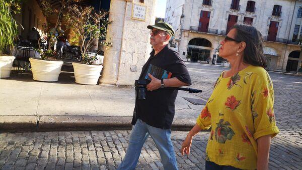 Silvio Rodríguez en la Habana Vieja - Sputnik Mundo