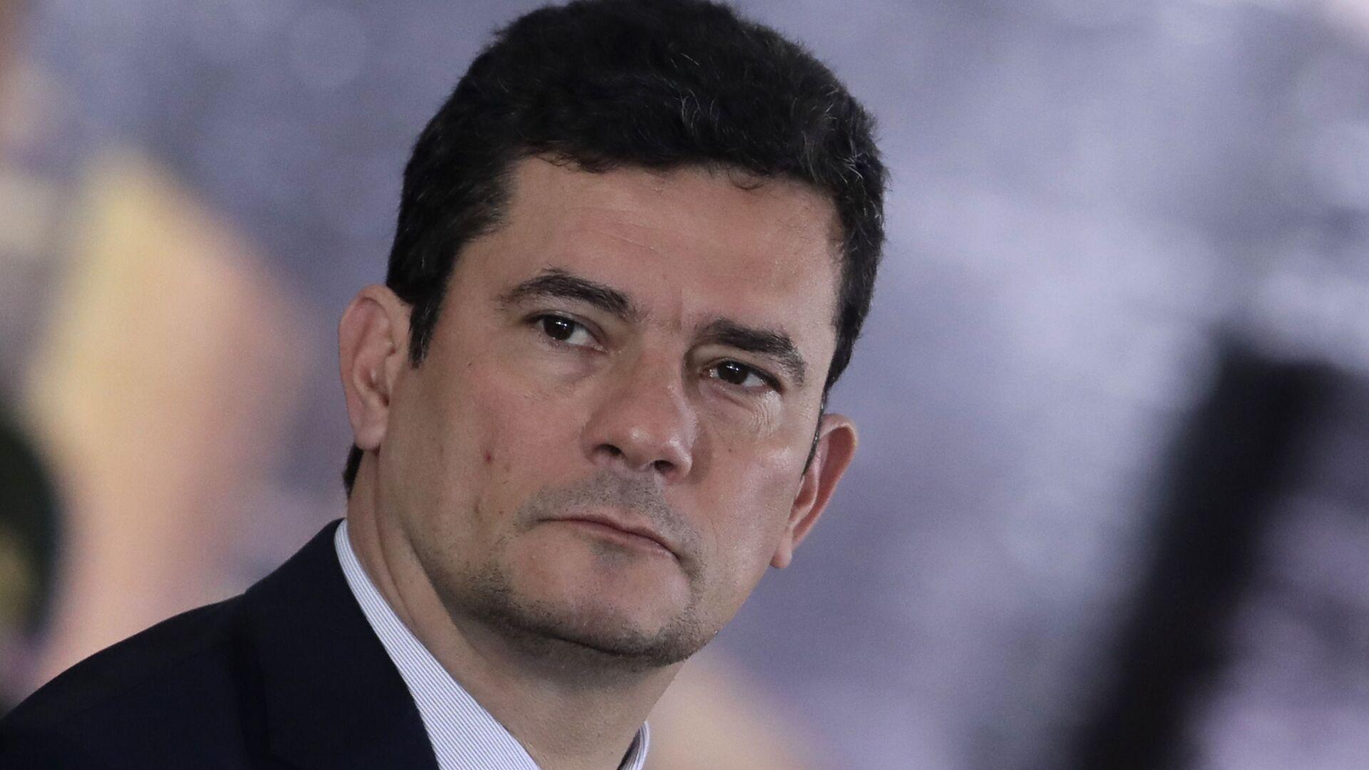 El ministro de Justicia y Seguridad Pública de Brasil, Sérgio Moro - Sputnik Mundo, 1920, 09.03.2021