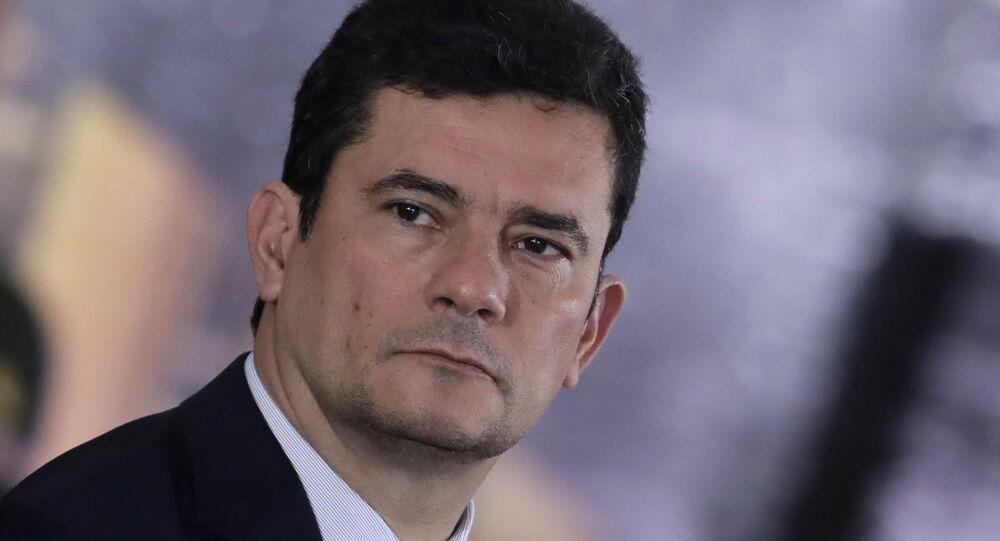El ministro de Justicia y Seguridad Pública de Brasil, Sérgio Moro