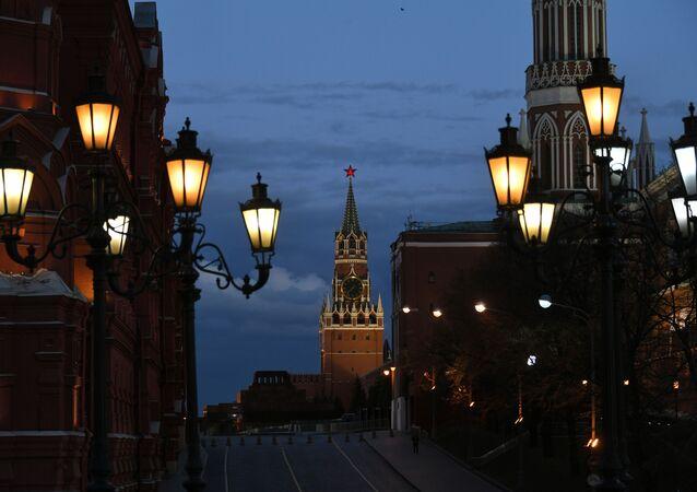 La Plaza Roja y el Kremlin de Moscú