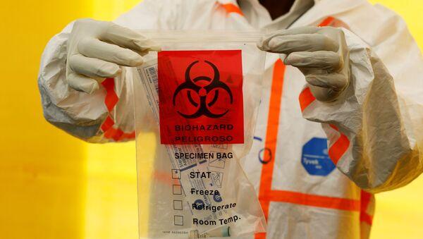 Prueba de coronavirus (imagen referencial) - Sputnik Mundo