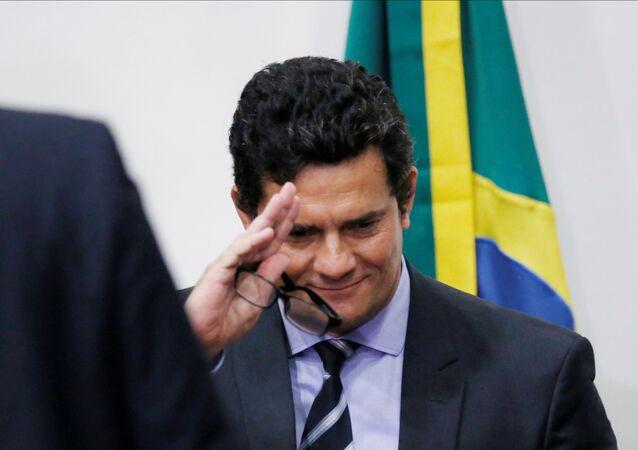 Sérgio Moro, exministro de Justicia de Brasil