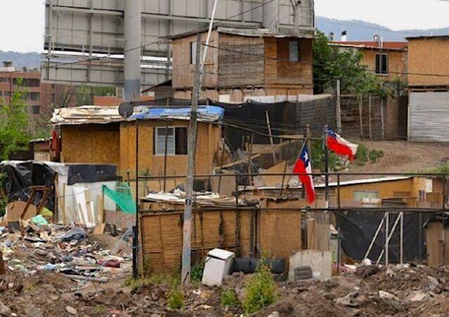 Campamento en Chile