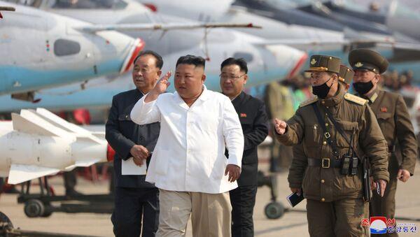 Kim Jong-un, líder supremo de Corea del Norte - Sputnik Mundo