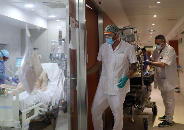Lucha contra el coronavirus en España
