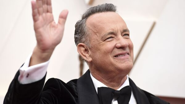 Tom Hanks, actor estadounidense - Sputnik Mundo
