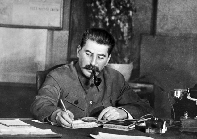 Iósif Stalin, líder soviético