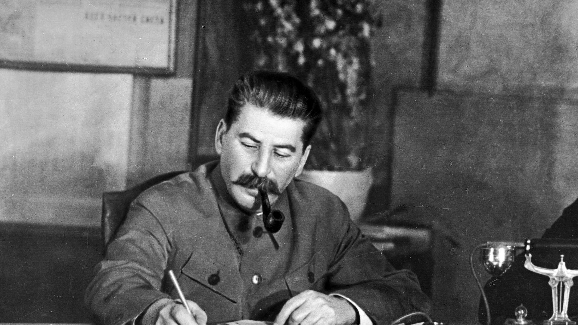 Iósif Stalin, líder soviético - Sputnik Mundo, 1920, 18.05.2021