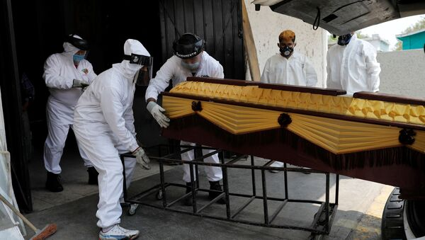 Funerales en México - Sputnik Mundo