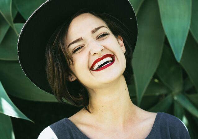 Una sonrisa, imagen referencial