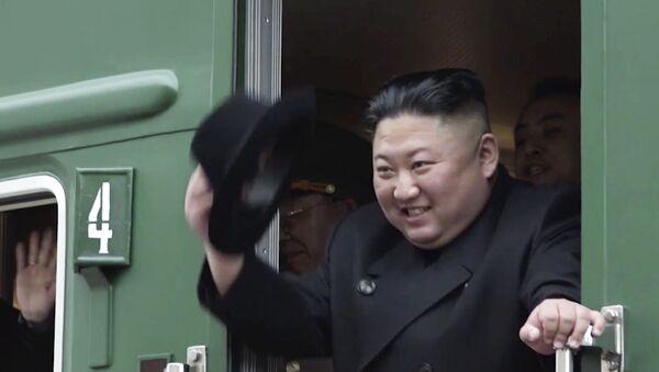 Kim Jong-un, líder supremo de Corea del Norte (foto de archivo) - Sputnik Mundo