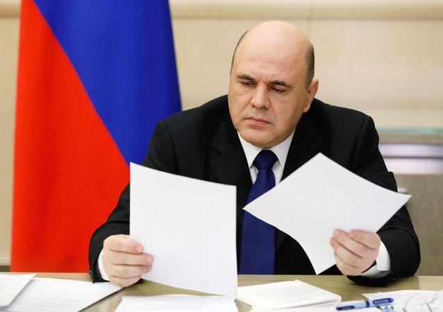 Mijaíl Mishustin, el primer ministro ruso